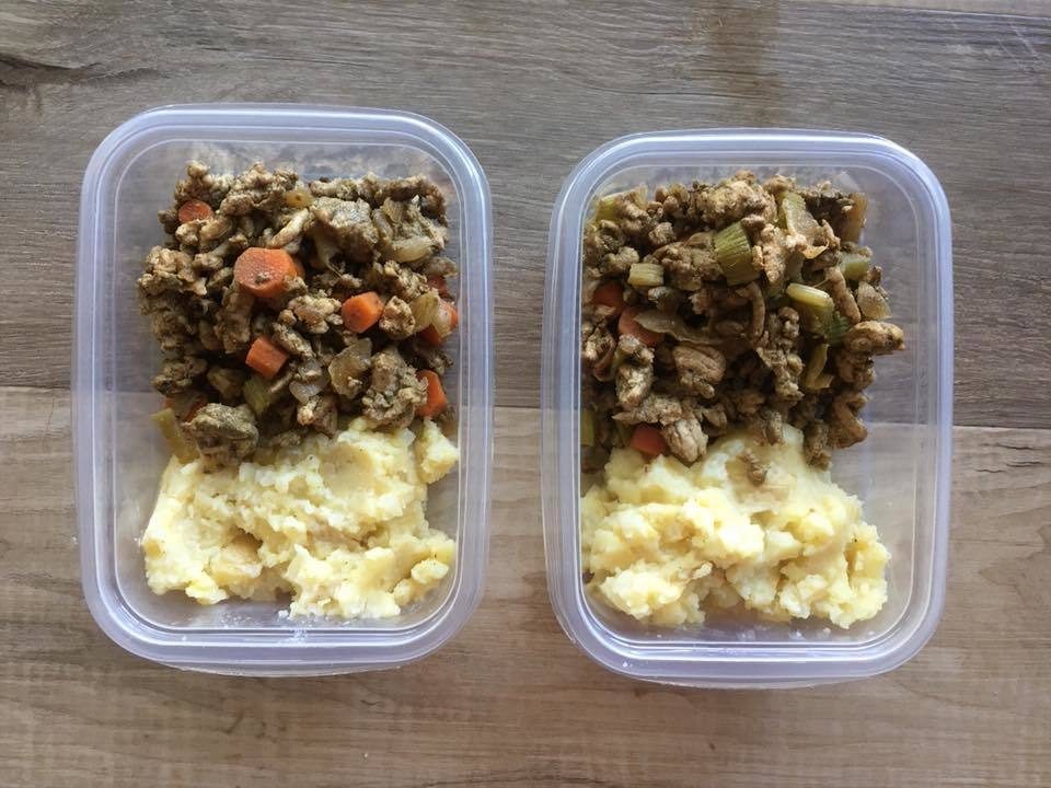 Meal Prep low carb shepherd's pie bpwls