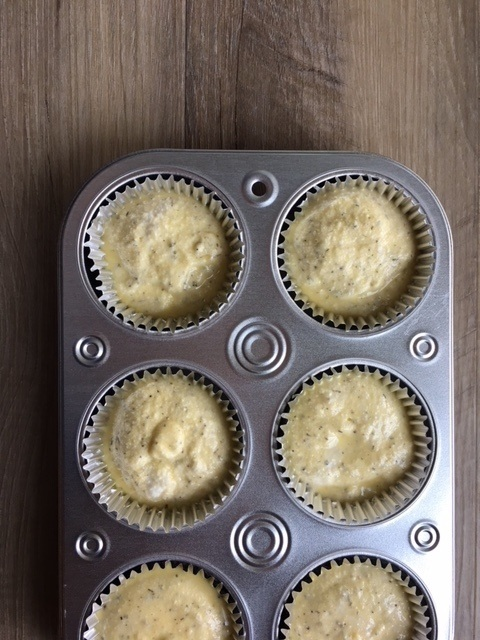 Muffin pan with ricotta bake