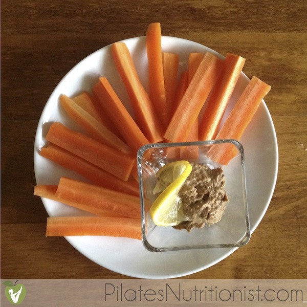 Pate with carrots
