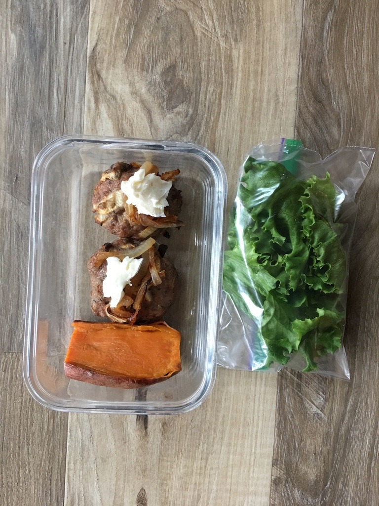 Apply Turkey Burgers Meal Prep