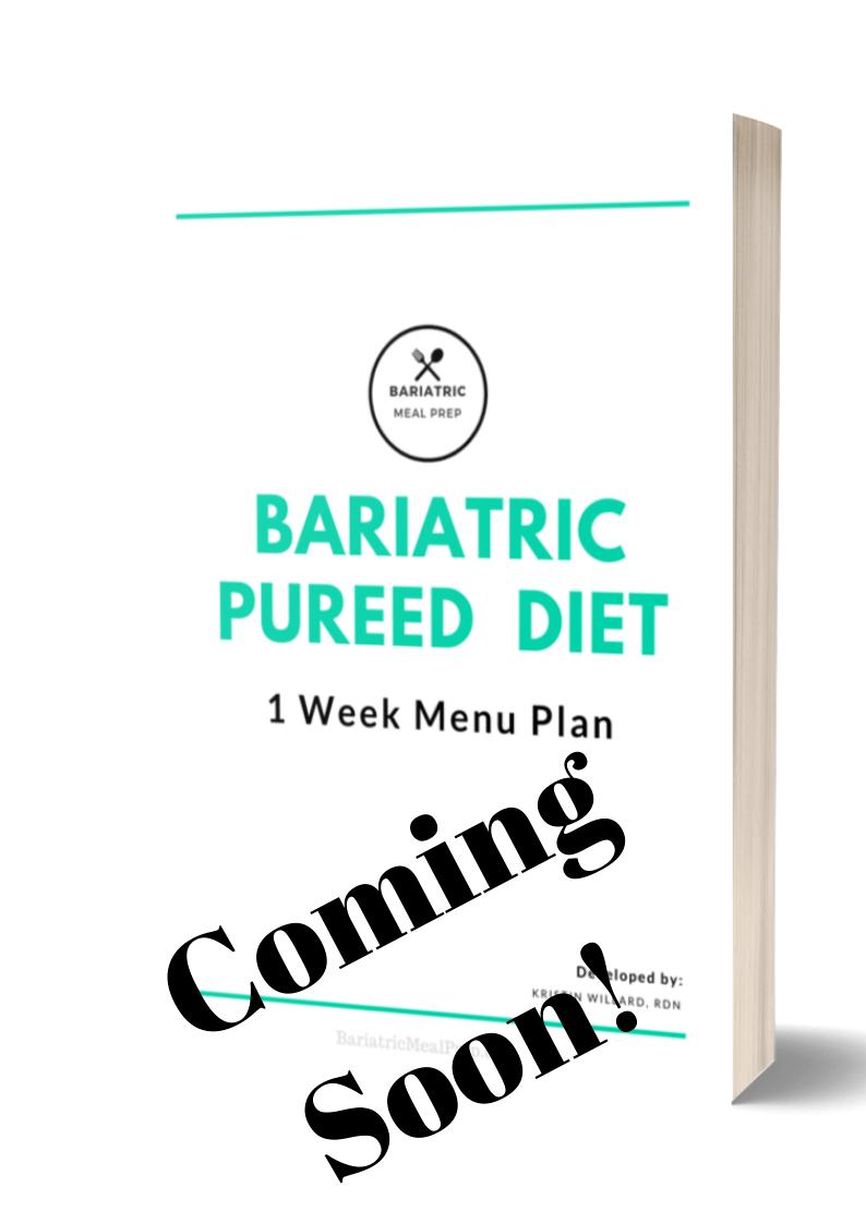 Pureed Diet Menu Plan