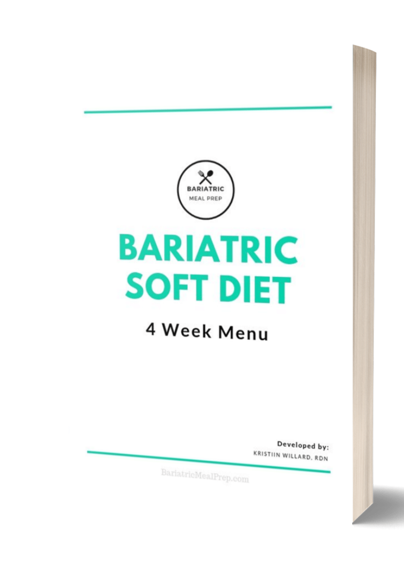 Bariatric Soft Diet Meal Plan