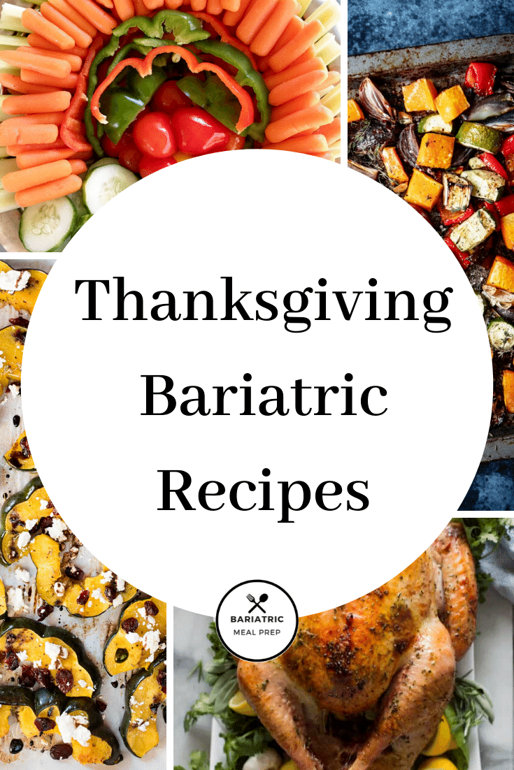 Thanksgiving Bariatric Recipes