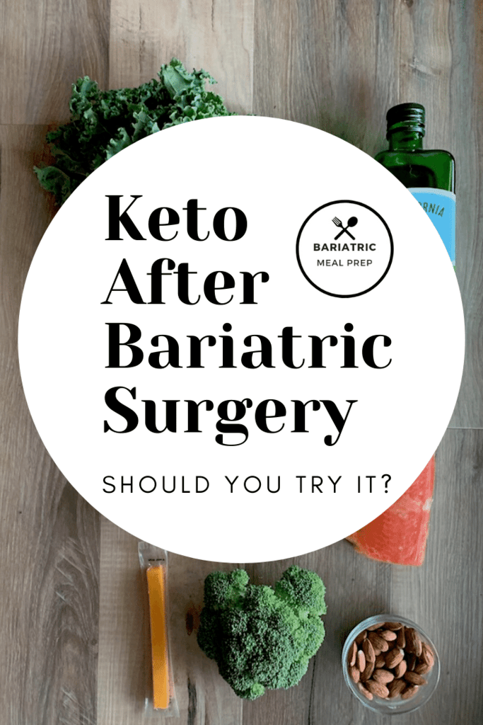 Keto After Bariatric Surgery Pinterest Image