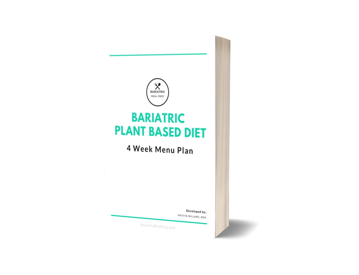 ebook cover of plant based bariatric diet